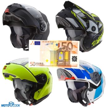 Acquista il tuo nuovo casco modulare Caberg subito per te uno sconto di 50,00 Euro!
